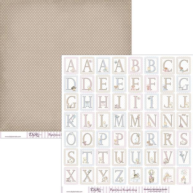 Papel scrap dayka doble cara libre cido scrabooking - Tipos de papel manualidades ...
