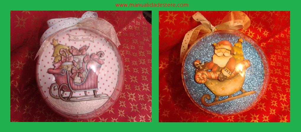 Tutorial bolas de navidad manualidades tere - Manualidades de bolas de navidad ...