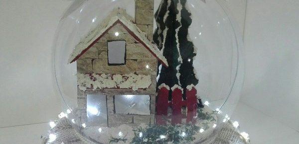 Manualidades tere tu tienda online de manualidades - Bola nieve navidad ...